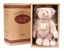 Steiff British Collectors rose pink mohair Teddy