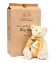 Steiff British Collectors champagne Bear, white