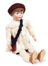 Simon & Halbig large rare bisque character doll