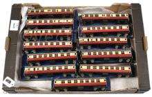GRP inc Hornby Dublo 3-rail D12 red and cream