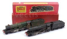 PAIR inc Hornby Dublo 2-rail 2224 2-8-0 Loco