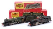 PAIR inc Hornby Dublo 2-rail locos 2218 2-6-4