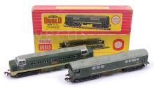 PAIR inc Hornby Dublo 2-rail Diesel locos 2234