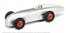 Dinky No.23A Racing Car White Metal Copy