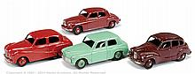 GRP inc Dinky unboxed car - Rover 75, maroon