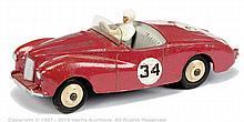 Dinky No.107 Sunbeam Alpine - cerise, Racing
