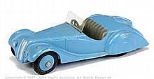 Dinky No.38A Frazer Nash BMW - mid blue body