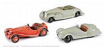 GRP inc Dinky 38 Series Car - Frazer Nash, grey