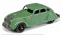Dinky No.30A Chrysler Airflow - green