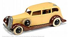 Dinky No.30D Pre-War Vauxhall - restored model