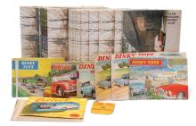 GRP inc Dinky, Corgi Catalogues and other