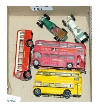 GRP inc Dinky, Corgi and Matchbox Buses and Cars