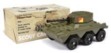 Popular Plastic (UK) Large Scale Armoured Car
