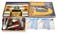 PAIR inc A&M Bartram (UK) Dan Dare Space Ship