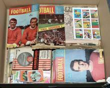 QTY inc Football Memorabilia Football