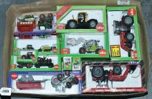 Siku, Ertl a mainly boxed Tractor Cast Case
