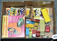 Matchbox, Corgi and similar a partially boxed