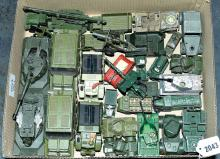 GRP inc Dinky, Matchbox an unboxed Army related