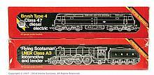 PAIR inc Hornby Railways OO Gauge Steam loco