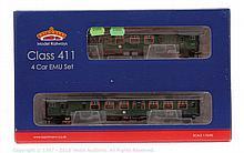 Bachmann OO Gauge 4-car EMU Set 31425A Class 411