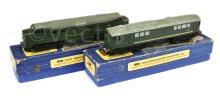 PAIR inc Hornby Dublo 3-Rail Steam Outline locos