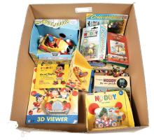 QTY inc Quantity of Noddy collectables, books