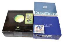 GRP inc Sega X Box, Dreamcast & Sony Playstation
