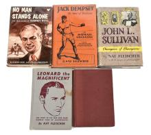 GRP inc Collection of Boxing related books