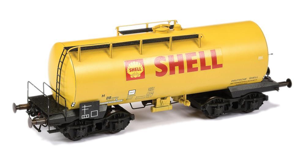 HEHR O Gauge 8-wheeled DB Bogie Shell Tanker 510