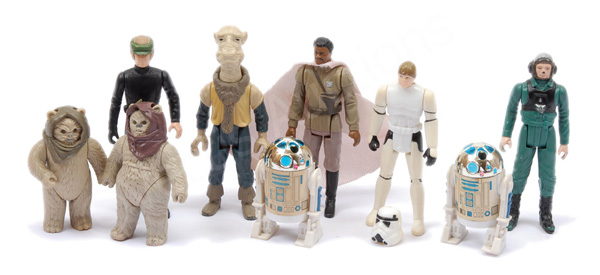 GRP inc Palitoy/Kenner Star Wars nine x vintage