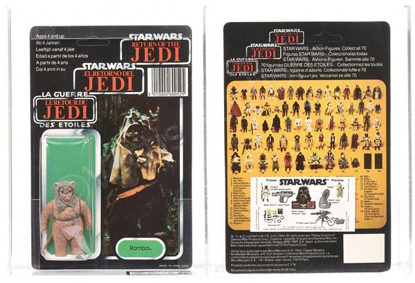 Star Wars Return of the Jedi vintage Tri-logo