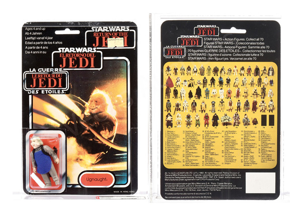 Star Wars Return of the Jedi vintage Tri-logo