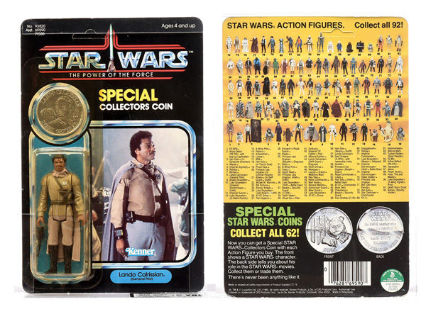Kenner Star Wars Power of the Force Lando