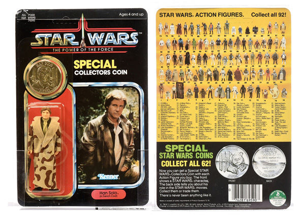 Kenner Star Wars Power of the Force Han Solo (in