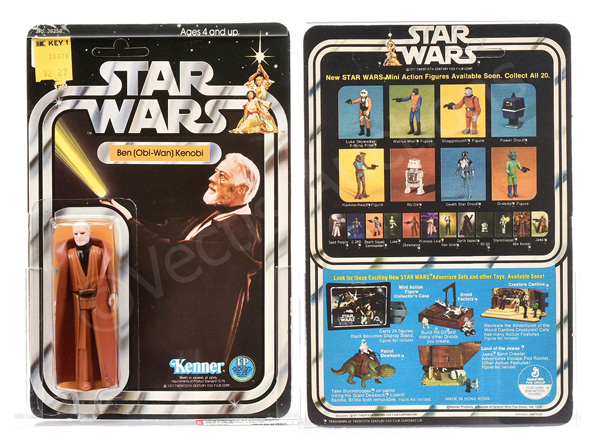 Kenner Star Wars Ben (Obi-Wan) Kenobi grey hair