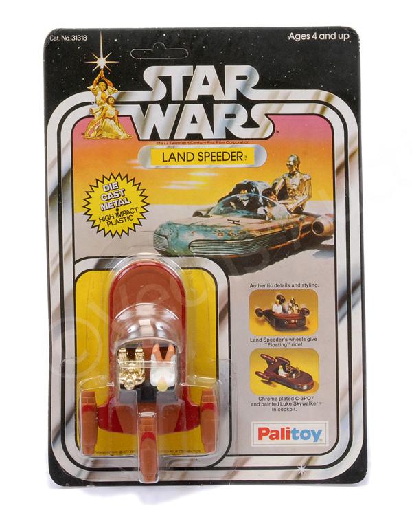 Palitoy Star Wars Land Speeder diecast metal