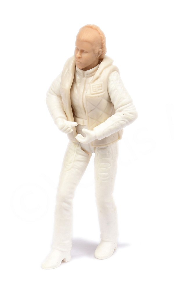 Star Wars prototype Leia Hoth 3 3/4