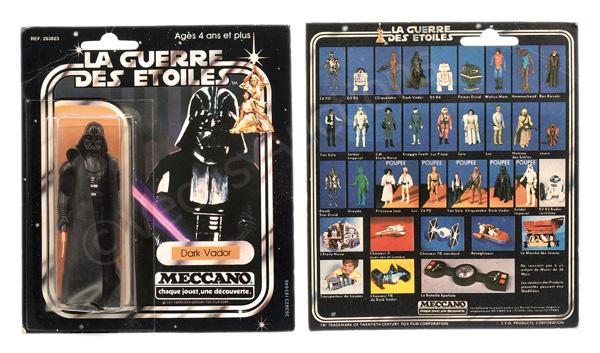 Meccano (France) Star Wars Darth Vader 3 3/4