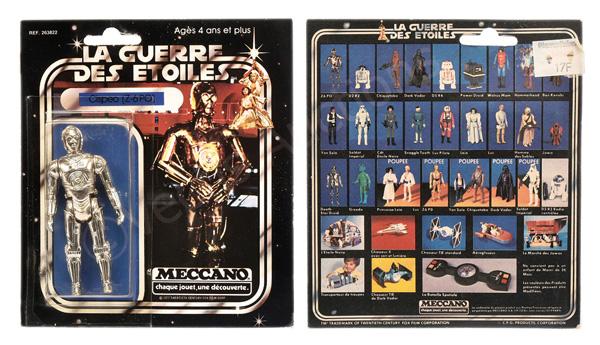 Meccano (France) Star Wars Cispeo (Z-6 PO)