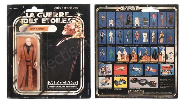 Meccano (France) Star Wars Ben Kenobi 3 3/4