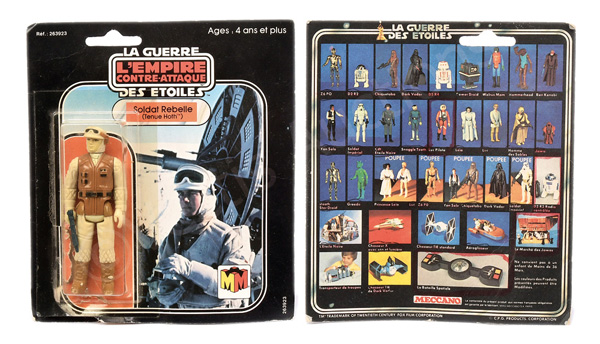 Meccano (France) Star Wars The Empire Strikes