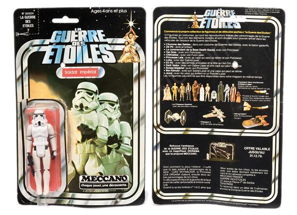Meccano La Guerre des Etoiles (Star Wars) Soldat