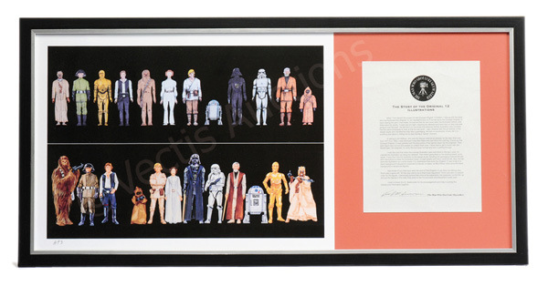 Star Wars Artist Proof Print, endorsed by Kim D