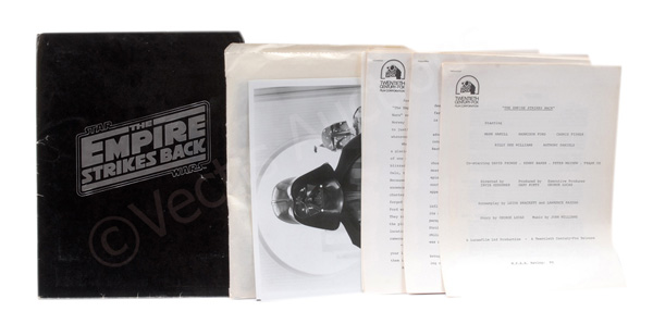 Star Wars the Empire Strikes Back vintage Press