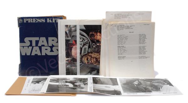 Star Wars vintage Press Kit, comprises