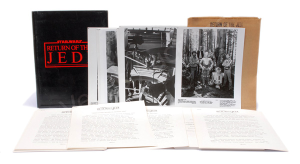 Star Wars Return of the Jedi vintage Press Kit