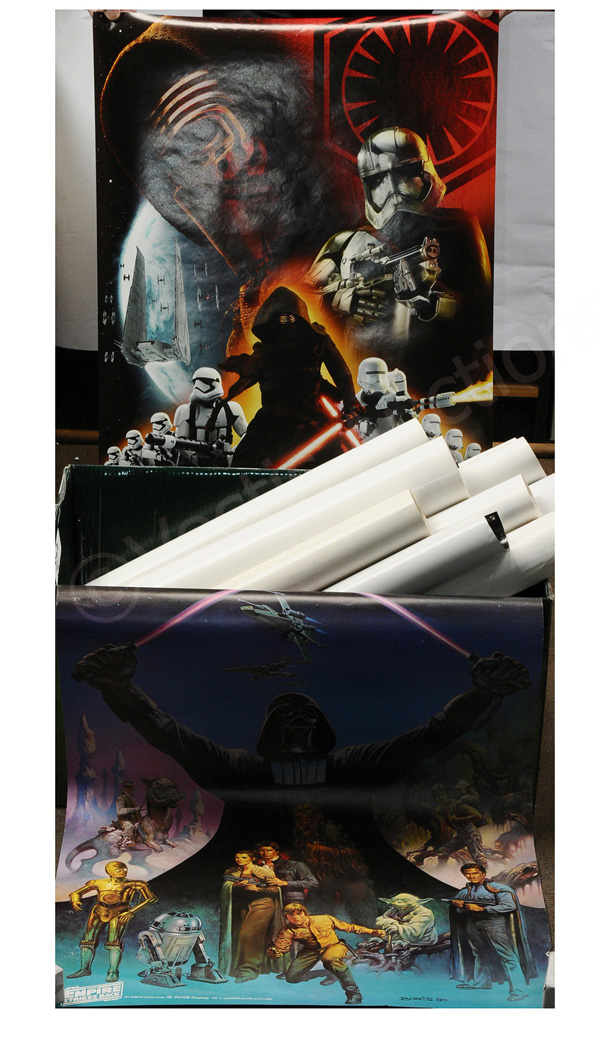 GRP inc Star Wars twenty-two assorted posters