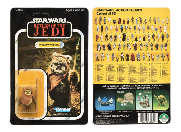 Kenner Star Wars Return of the Jedi Wicket W
