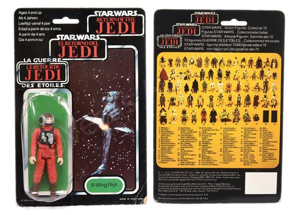 Star Wars Return of the Jedi Tri-Logo B-Wing