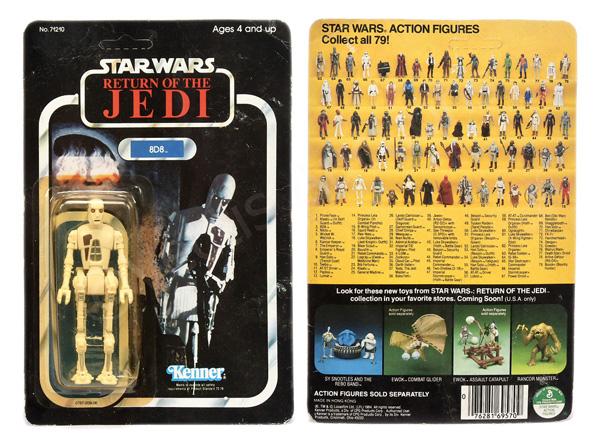 Kenner Star Wars Return of the Jedi 8D8 3 3/4